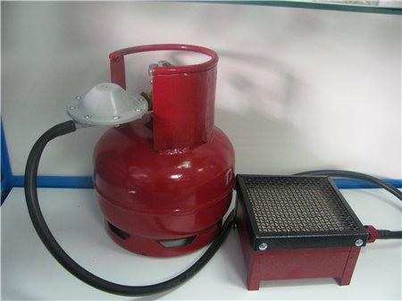 Газовый керамический обогреватель с баллоном