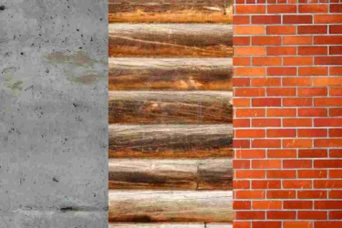 Три вида оснований – бетонное, деревянное, кирпичное