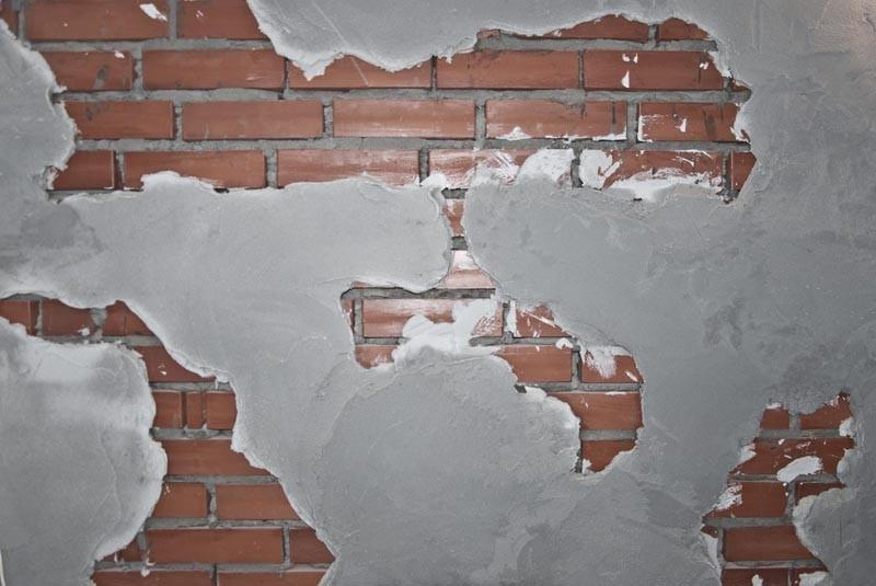 Шпаклевание кирпичной стены своими руками