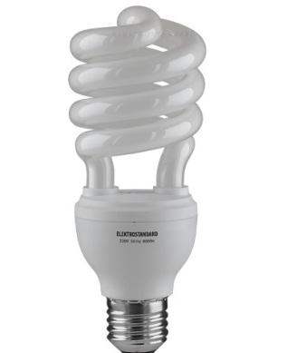 Энергосберегающая лампа, в форме спирали