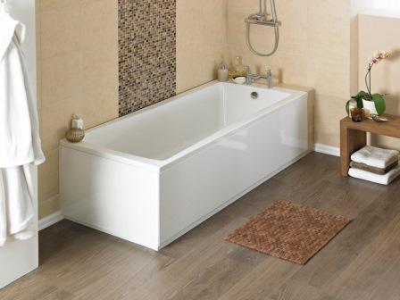 Чистим акриловую ванну