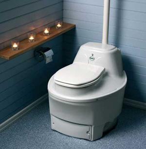 Электрический биотуалет для дома и дачи