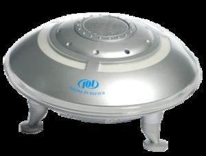 воздухоочиститель-озонатор в виде тарелки