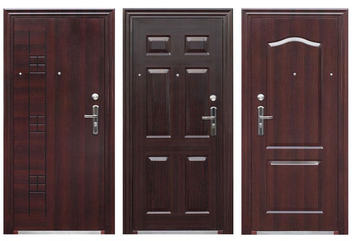 Выбор металлической входной двери может осуществляться по нескольким признакам