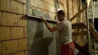 Выравнивание стены своими руками