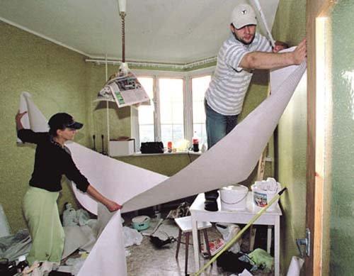 ремонт квартиры своими руками с нуля
