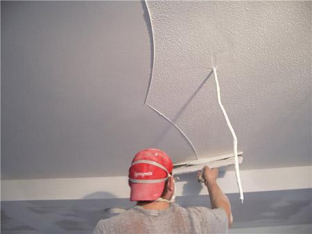 Финишное шпаклевание потолка своими руками