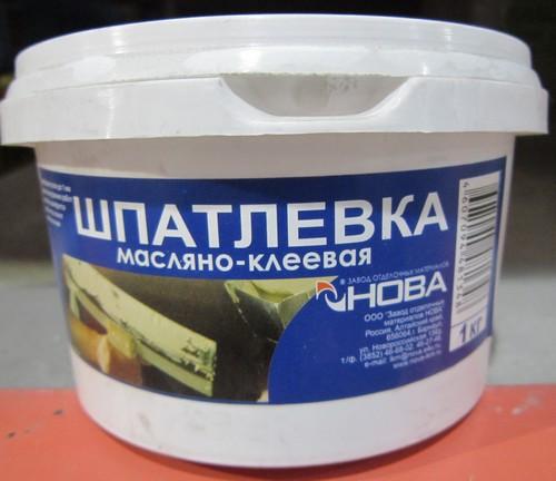 Масляно-клеевая шпатлевка для стен